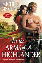 In the Arms of a Highlander
